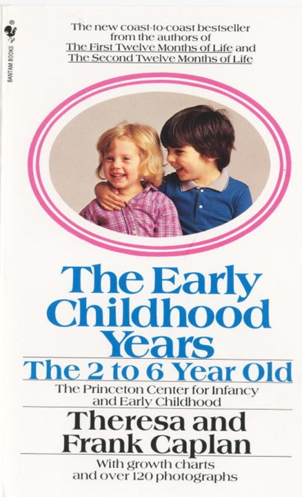 Early Childhood Years 2-6yr