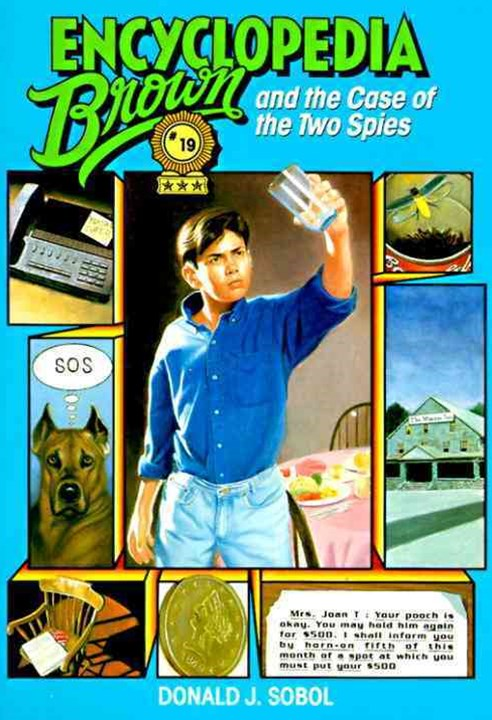 Encyclopedia Brown & The Case Of The Two Spies