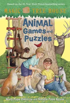 Animal Games And Puzzles From The Tree House