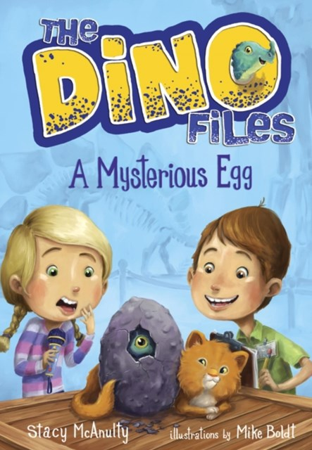 Dino Files #1: A Mysterious Egg