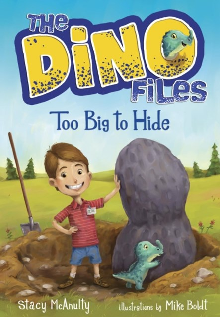 (ebook) Dino Files #2: Too Big to Hide