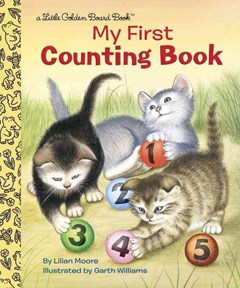 My First Counting Book Board Book