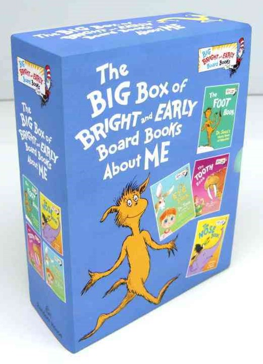 The Big Box of Bright and Early Board Books about Me