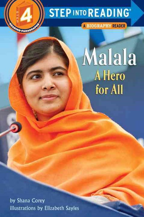 Malala A Hero For All Step into Reading Lvl 4