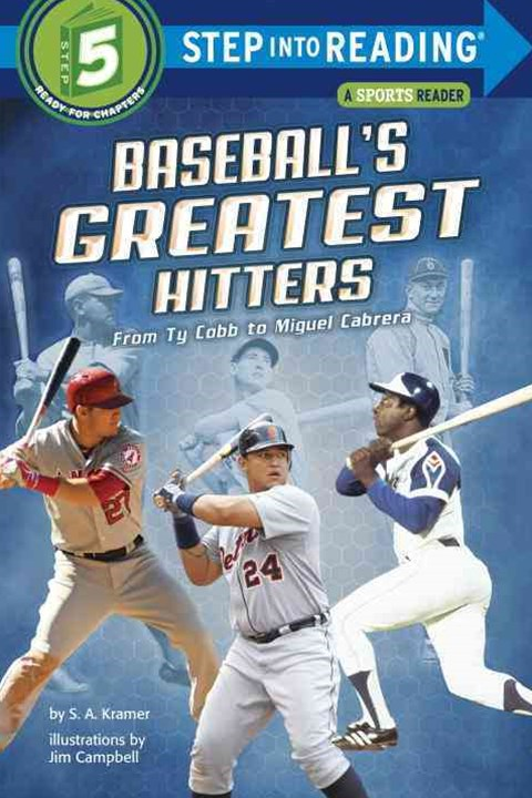 Baseball's Greatest Hitters Step Into Reading Lvl 5
