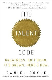 The Talent Code by Daniel Coyle (9780553806847) - HardCover - Science & Technology Biology