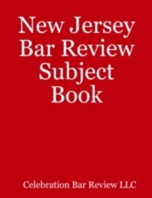 (ebook) New Jersey Bar Review Subject Book