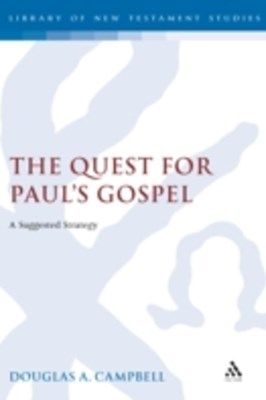(ebook) Quest for Paul's Gospel