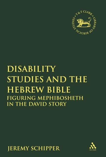 (ebook) Disability Studies and the Hebrew Bible