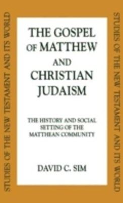 (ebook) Gospel of Matthew and Christian Judaism