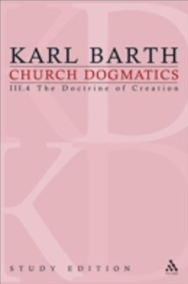 Church Dogmatics Study Edition 19
