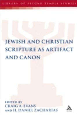(ebook) Jewish and Christian Scripture as Artifact and Canon