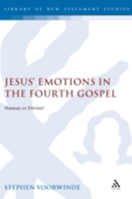 (ebook) Jesus' Emotions in the Fourth Gospel