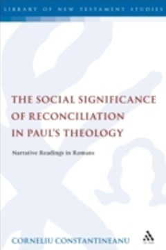 (ebook) Social Significance of Reconciliation in Paul