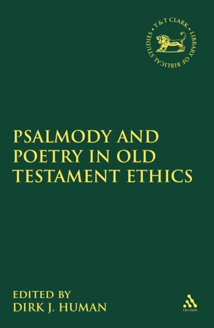 (ebook) Psalmody and Poetry in Old Testament Ethics