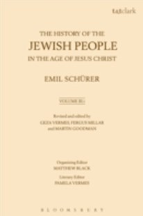 (ebook) History of the Jewish People in the Age of Jesus Christ: Volume 3.i - History Ancient & Medieval History