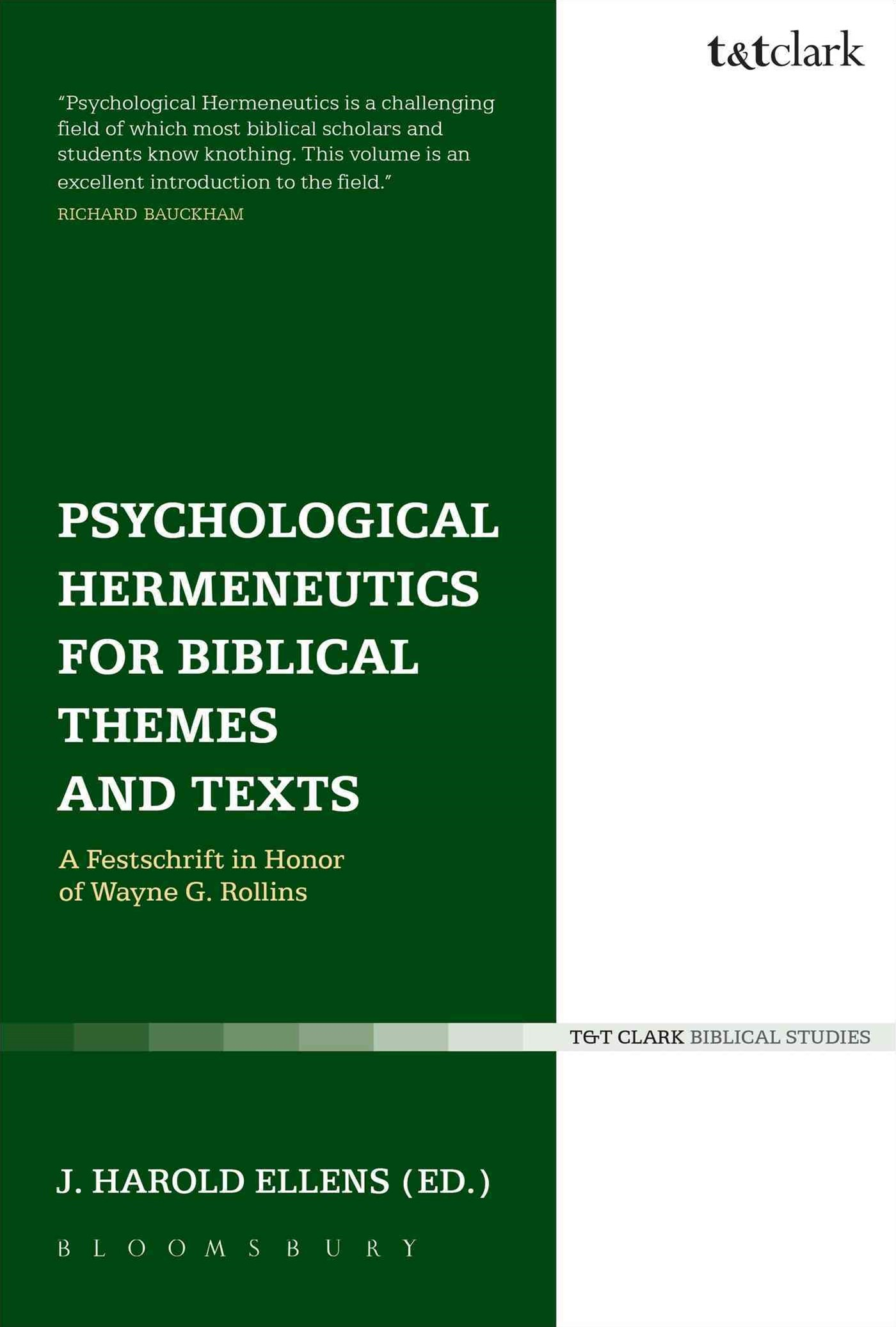 Psychological Hermeneutics for Biblical Themes and Texts