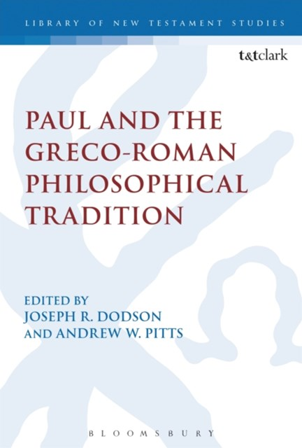 (ebook) Paul and the Greco-Roman Philosophical Tradition