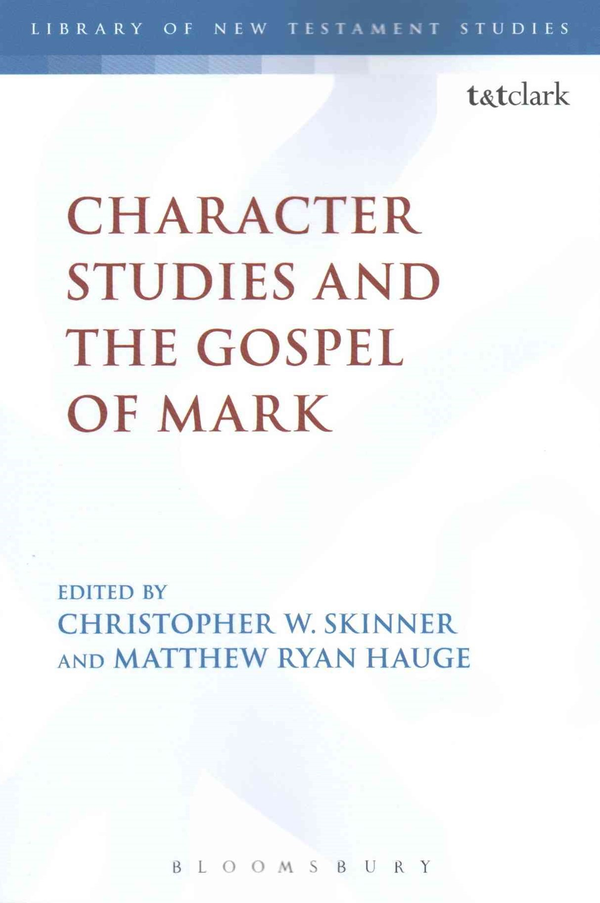 Character Studies and the Gospel of Mark