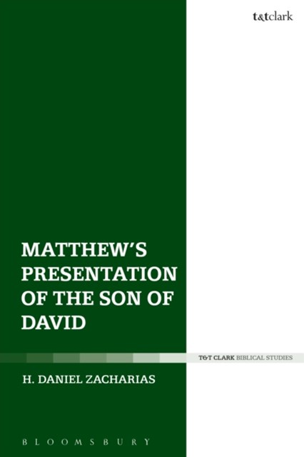 (ebook) Matthew's Presentation of the Son of David