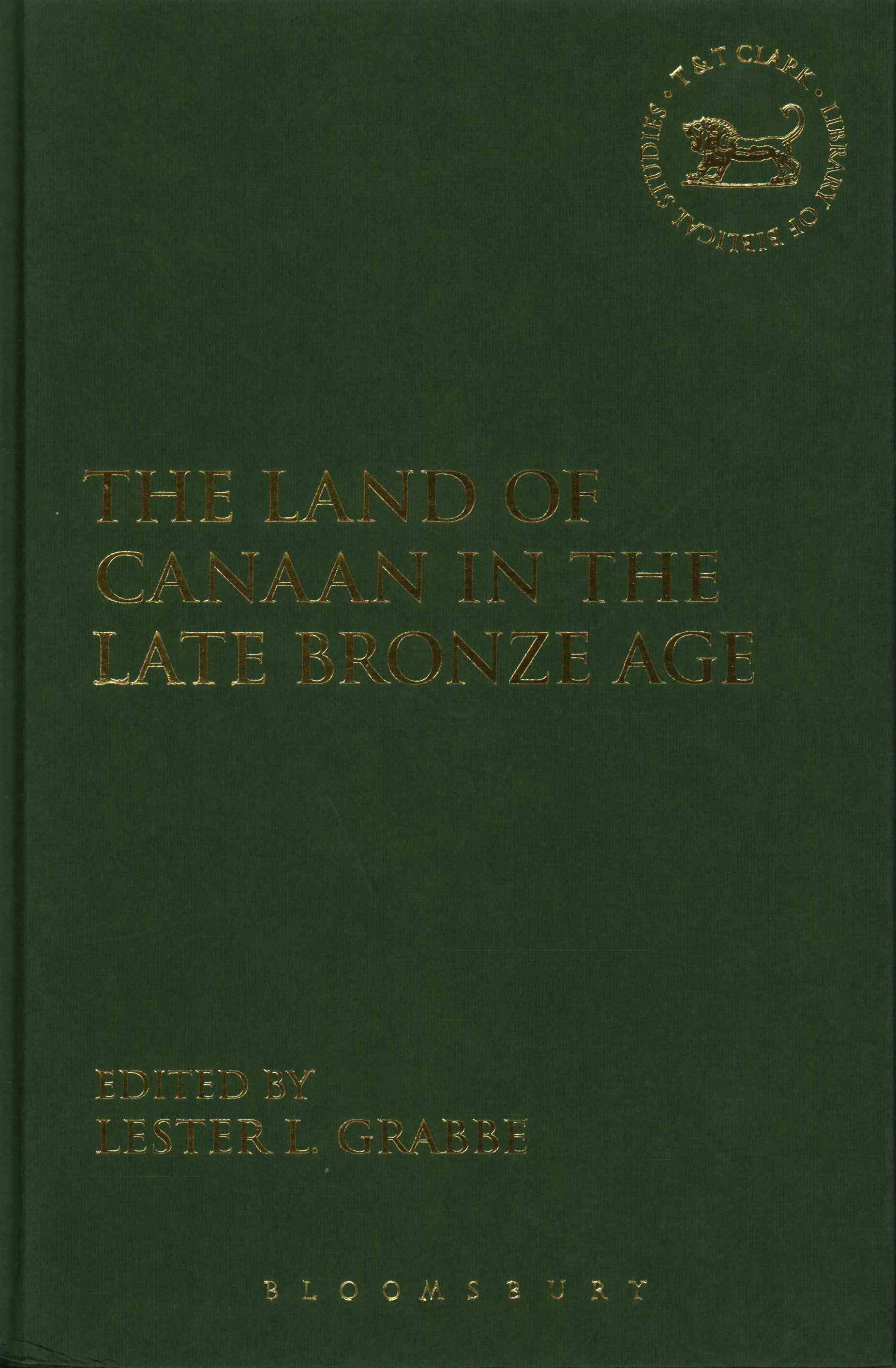 Land of Canaan in the Late Bronze Age