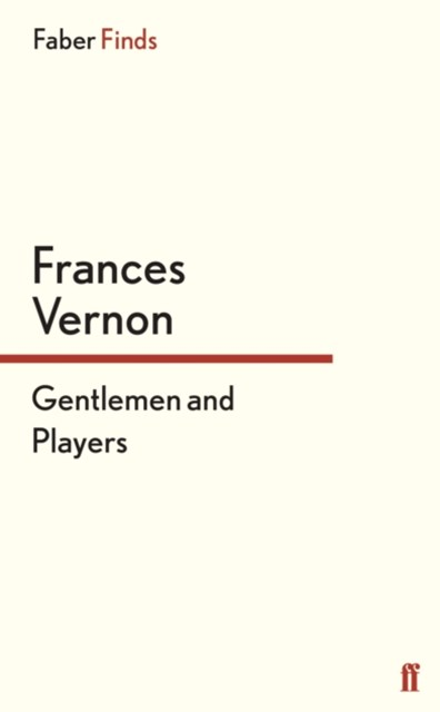 (ebook) Gentlemen and Players