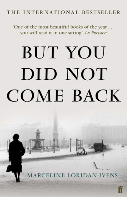 But You Did Not Come Back