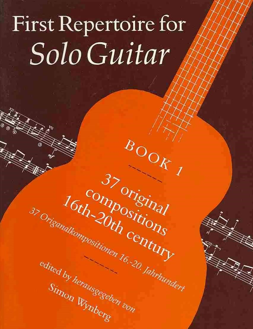 First Repertoire for Solo Guitar, Bk 1