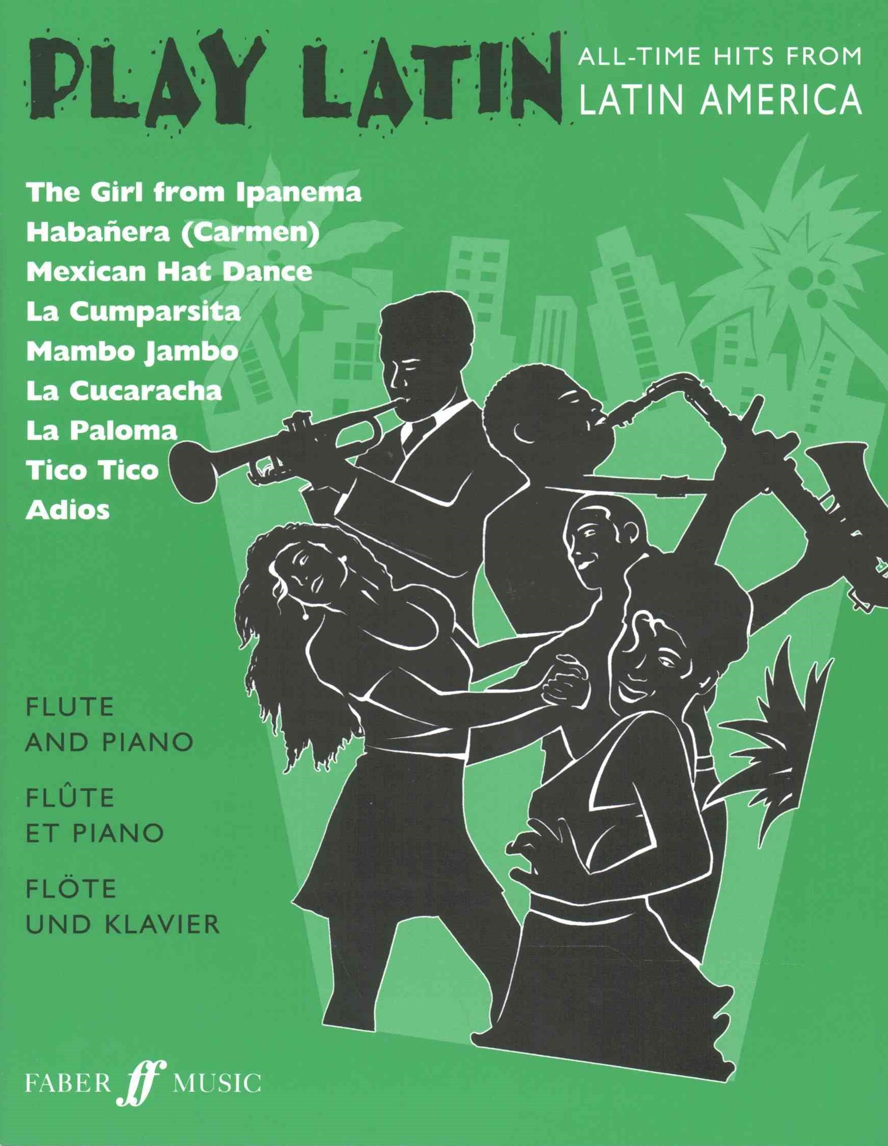 Play Latin Flute and Piano