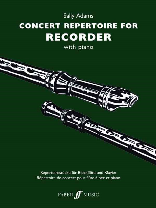 Concert Repertoire for Recorder