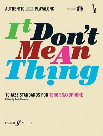 Tenor Saxophone Book and