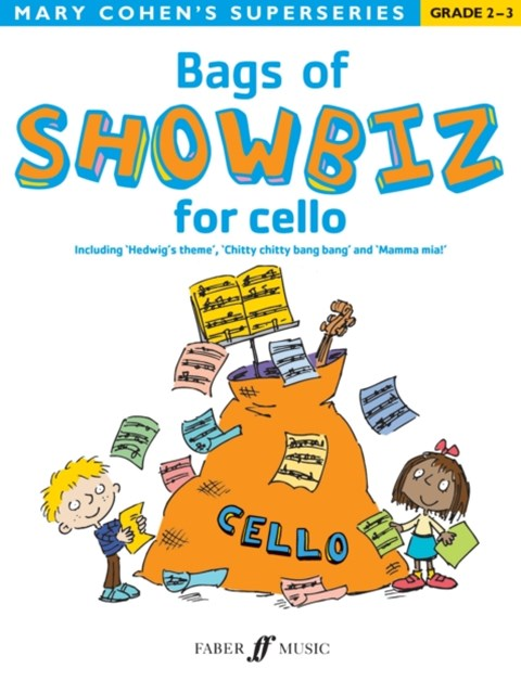 BAGS OF SHOWBIZ CELLO