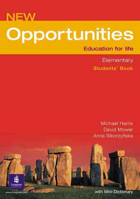 Opportunities Elementary Students' Book