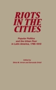 (ebook) Riots in the Cities - History Latin America