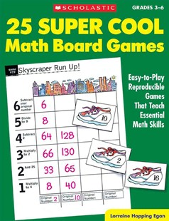 25 Super Cool Math Board Games by Lorraine Hopping Egan, Anderko Teresa (9780590378727) - PaperBack - Education Primary