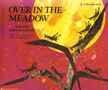 Over in the Meadow by Olive A. Wadsworth, Ezra Jack Keats (9780590448482) - PaperBack - Children's Fiction Early Readers (0-4)
