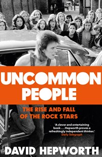 Uncommon People: The Rise and Fall of the Rock Stars 1955-1994 by David Hepworth (9780593077627) - HardCover - Biographies Entertainment