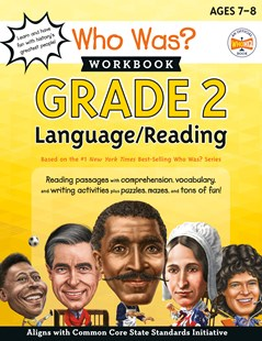 Who Was? Workbook: Grade 2 Language/Reading by Who Hq (9780593224533) - PaperBack - Non-Fiction