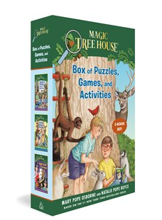 The Magic Tree House Box of Puzzles, Games, and Activities by Mary Pope Osborne, Natalie Pope Boyce, Sal Murdocca (9780593373118) - PaperBack - Non-Fiction Art & Activity