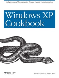 (ebook) Windows XP Cookbook