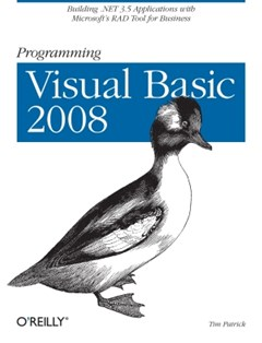 (ebook) Programming Visual Basic 2008