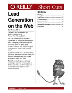 Lead Generation on the Web
