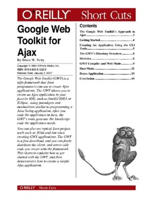 (ebook) Google Web Toolkit for Ajax