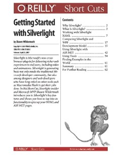 (ebook) Getting Started with Silverlight - Computing Internet