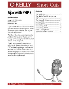 (ebook) Ajax with PHP 5