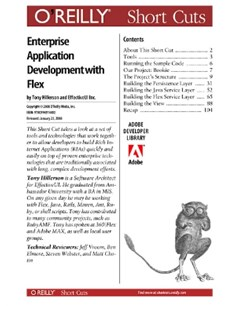 (ebook) Agile Enterprise Application Development with Flex - Computing Internet