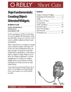 (ebook) Dojo Fundamentals: Creating Object-Oriented Widgets
