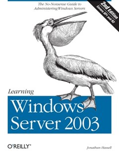 (ebook) Learning Windows Server 2003