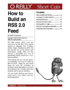 How to Build an RSS 2.0 Feed