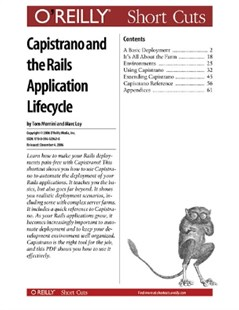 (ebook) Capistrano and the Rails Application Lifecycle - Computing Programming